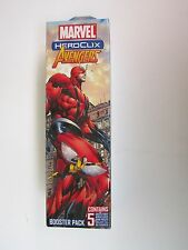 Marvel Heroclix Avengers Booster Pack with Black Panther and Others -Brand New