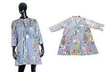 KAFTANO MARE - vestito copricostume - MADE IN INDIA - 100% cotone - taglia unica