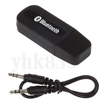 USB Stereo Bluetooth Receiver Adapter For MobilePhone Tablet PC Music to AUX Car