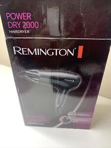 Remington D3010 Power Dry Professional Hair Dryer Ceramic Ionic 2000W (1445)