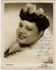 Rare Original VTG Beautiful Jazz Singer June Richmond Signed Autographed Photo