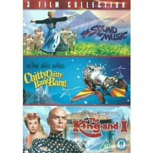 3-Film Collection: The Sound Of Music   Chitty Chitty Bang Bang   The King An...