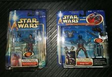 STAR WARS ATTACK OF THE CLONES JANGO FETT ELECTRONIC JETPACK KAMINO ESCAPE LOT