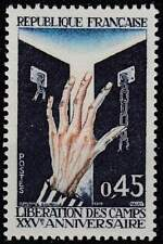 Frankrijk postfris 1970 MNH 1718 - Bevrijding Concentratiekampen