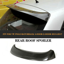 A Type Carbon Fiber Rear Roof Wing Spoiler Fit For VW Volkswagon Polo 6R
