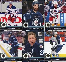 17/18 UPPER DECK SERIES 1 TEAM SET - WINNIPEG JETS