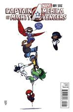 Captain America & the Mighty Avengers #1 Skottie Young Baby Variant