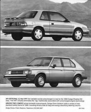 1990 Dodge Shadow ES and Omni Press Photo 0155