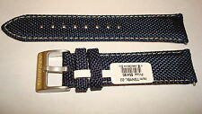 TORGOEN GENUINE FACTORY  REPLACEMENT NYLON TEX BAND BLUE  22MM