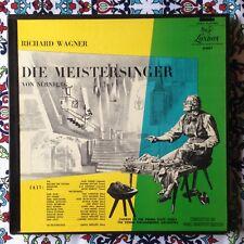 Knappertsbusch Wagner Die Meistersinger 6 x LP London A4601 Complete Opera rare