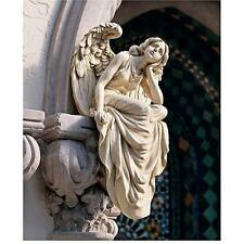 Resting Grace Sitting Angel Statue Monterverde Detailed Wings and Flowing Robe
