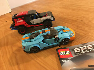 Lego Speed Champions Set 76905 Ford GT Heritage Edition and Bronco R (2021).