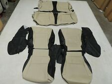 Leather Seat Covers Interior Replacement Skins Fits Honda Accord Coupe 13-17 B25