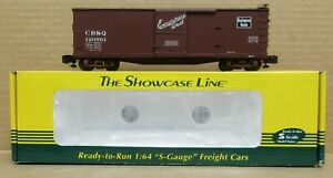 S-Helper 01887 Burlington/CB&Q DS Xm Boxcar #120561 NIB S-Gauge/Scale
