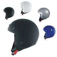Open Face Jet Helmet Lid Motorbike Scooter Quad Peak A-PRO