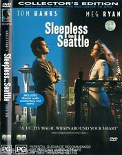 Sleepless In Seattle DVD Tom Hanks Meg Ryan BRAND NEW R4