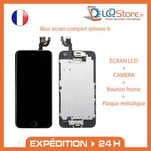 Bloc écran complet IPhone 6 Vitre tactile + LCD + Caméra frontale + bouton home