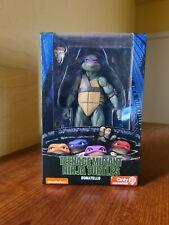 NECA 7? Donatello 1990 Movie Ninja Turtles TMNT GameStop Exclusive Figure