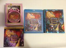 SLEEPING BEAUTY Blu Ray DISNEY Rare Alarm Clock, Slipcover & DVD Maleficent