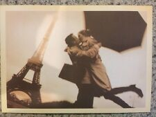 POSTCARD UNUSED REPRODUCTION-- FRANCE, PARIS--THE EIFFEL TOWER ROMANCE IN PARIS