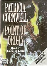 Patricia Cornwell - Point of Origin (10xCass A/Book 1996) Scarpetta 9; FREE P&P
