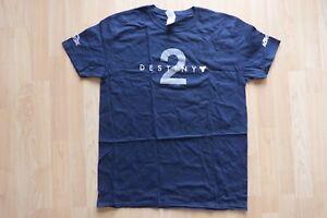 Destiny 2 T-Shirt Logo blau Gamescom 2017 Größe L