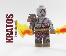 Custom Kratos Marvel Super heroes by engineerio minifigures lego bricks