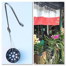 10 pcs. Wire Hangers For Basket Orchid Cataleya Vanda Flower Garden Plant 3 Legs