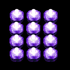 3 6 12 24 36 LED Submersible Waterproof Wedding Decoration Party Vase Tea Light
