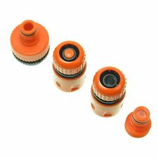 Plastic Garden Lawn Water Hose pipe fitting Set Connector tap adaptor 12-19 mm