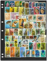 Papua New Guinea 1972-75 Selection of 15 Complete Sets of 71 Stamps All MUH 4-13