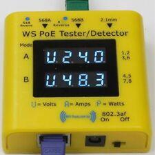 Ws Poe Testeur + Ws-Poe-Tester_001 Double Microprocesseur V Ampèremètre Systèmes