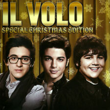 IL VOLO SPECIAL CHRISTMAS EDITION CD New Sealed 17 Track Italian Pop Trio Popera