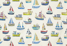 BLACKOUT MTM ROMAN BLIND PRESTIGIOUS SAILING BOATS BOAT CLUB COBALT BLUE GREEN