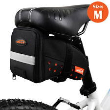 Ibera Bicycle Strap-on Medium Saddle Bag Rear Seat Cycling NEW SB11-M