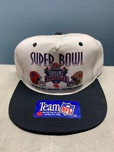 Buffalo Bills Super Bowl XXVII Hat Error RARE!! San Francisco (SHB  Dallas)