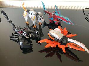Power Rangers Samurai set of 4 zords great set
