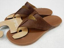 461e3bb585a609 OluKai Womens Lala Sandals 20321 Kona Coffee   Tan Size 8