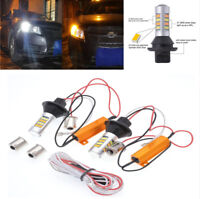 1156 BAU15S LED Bulbs For Ford Toyota Camry Turn Signal Light DRL Conversion x2