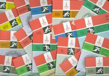 33 Different Unused Tickets 1980 Olympics Boxing/Football/Basketball/Track/Horse