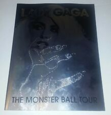 Lady Gaga The Monster Ball Tour Book Program Born This Way Art/Pop Souvenir