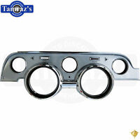 1967 Ford Mustang (Deluxe) Instrument Dash Board Bezel Brushed Aluminum