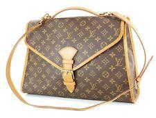 Auth LOUIS VUITTON Beverly Briefcase Monogram 2-Way Hand Shoulder Bag #26153