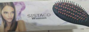 Sistaco Woman Digital Hair Straightening Brush Ceramic Heats Quickly & Evenly