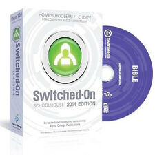 SOS Switched On Schoolhouse Bible Grade 6 2016 Edition With Install CD &Warranty