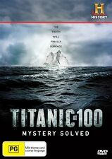 Titanic At 100 - Mystery Solved (DVD, 2012)
