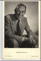 ~1950/60 Porträt-AK Film Bühne Theater Schauspieler MATHIAS WIEMAN Bavaria-Foto