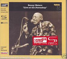 """Benny Waters Live at the Pawnshop"" Opus JVC Japan HR Cutting SHM-XRCD XRCD24 CD"