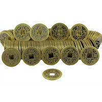 50Pc Bronze Feng Shui Chinese Qing Dynasty Coins Emperor Lucky Coin Craftss Q9L0