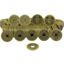 50Pc Bronze Feng Shui Chinese Qing Dynasty Coins Emperor Lucky Coin Craftss: